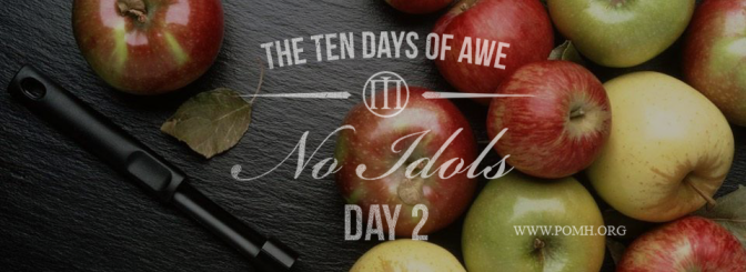 TEN DAYS OF AWE- DAY 2