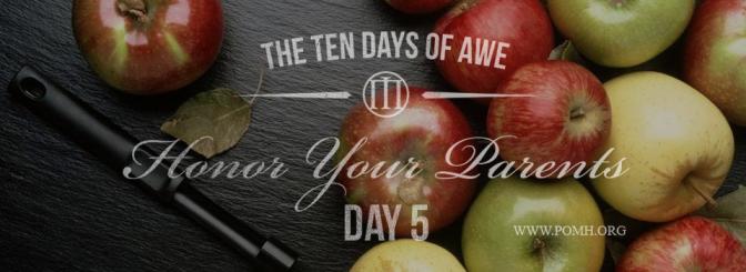 TEN DAYS OF AWE- DAY 5