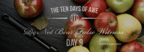 TEN DAYS OF AWE- DAY 9